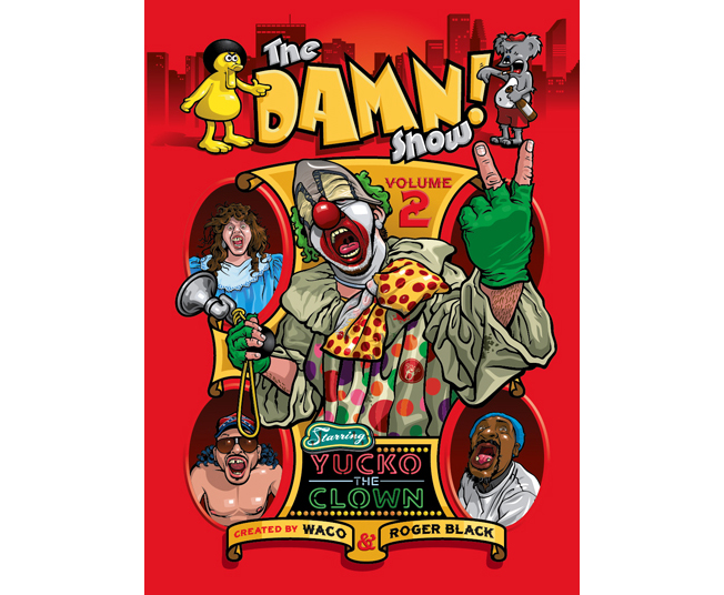 DAMN SHOW VOLUME 2 DVD ART